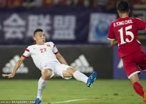 东亚杯-于大宝王永珀建功 中国2-0朝鲜迎首胜