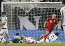 欧冠-穆勒罗本破门 拜仁2-2被尤文逼平