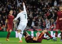 欧冠-皇马2-0罗马