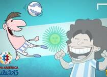 美洲杯官方漫画:巨星传承
