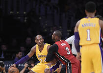 NBA-科韦告别战 湖人加时1.9秒绝杀热火