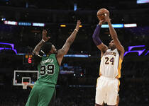 NBA-科比与死敌最后一战