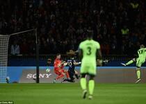 欧冠-伊布失点+破门 巴黎主场2-2曼城