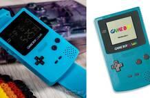任天堂官方认可Game Boy造型手表发售 值得收藏