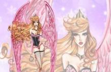 当迪士尼公主变维密天使后,长发公主仙气十足!