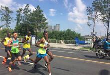 吉林国际马拉松开跑 现场气氛火爆