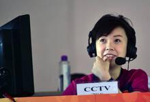 张怡宁任央视世乒赛解说嘉宾 解说席优雅从容