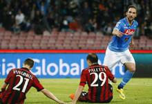 意国脚50秒染红 米兰0-3那不勒斯联赛三连败