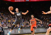 NBA-双少轰67分 雷霆狂追20分憾负勇士