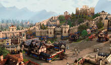 《帝国时代4》画面首曝:重回中世纪投石器战争