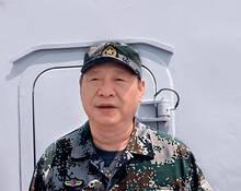 习近平南海阅兵多幅照片首次公开
