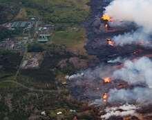 夏威夷火山熔岩吞没发电厂或引发爆炸