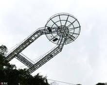 广东首座巨无霸悬空玻璃平台面世