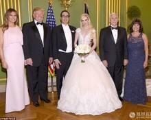 美国财政部长三婚 正副总统携妻捧场 