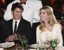 伊万卡和特鲁多同赴晚宴