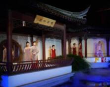 """美!苏州上演时尚江南版""""游园惊梦""""(组图)"""