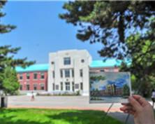 毕业季手绘校园明信片受大学生热捧