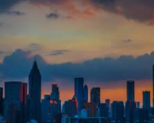 峥嵘赤云西,日脚下平地|南京城中的小确幸(组图)