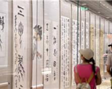 炎夏心静地 中国文化的瑰宝甲骨文亮相南京(组图)