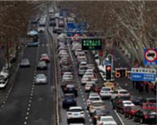 排队进城模式开启!南京中山门车辆排长龙(组图)
