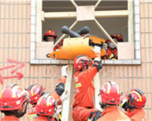 江蘇舉行地震災害救援跨區域實戰拉動演練(組圖)