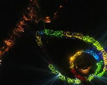 南京最浪漫的夜景!美齡宮項鏈七夕被點亮(組圖)