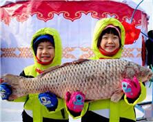 """沈阳冬捕节""""穿越""""至辽代 头鱼卖出28万元"""