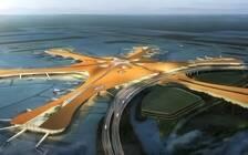 耗资800亿的大兴机场竣工  以后去北京第一站就是科幻大片