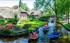 荷兰有个羊角村  被称为