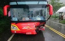 一大陆游客团在台湾阿里山遭遇车祸 事故已致10人伤