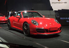 2017上海车展:保时捷新款911 GTS亮相