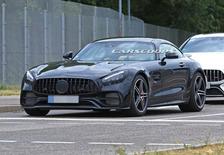 新款梅赛德斯-AMG GT谍照 外观小幅调整