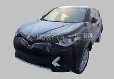 上汽MG全新电动SUV首曝 或明年初亮相