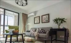 67平的学区房 居然能够装出三室两厅的感觉!