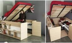 房子小 这些方法让你的卧室大一倍