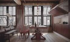 工业风格住宅,第一眼看上,你就会爱上它!