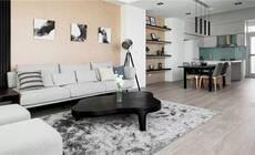 70㎡现代日式阳光宅,美好风光尽在家中!