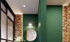 想要绿色的浴室?给你2种方法和25种参考