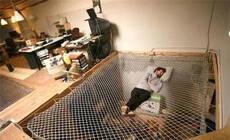 当房子遇上渔网,休闲区还能这样玩!