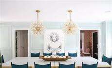 绚丽的餐厅灯光布置,设计撩动味蕾