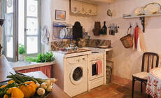 家里面积小 洗衣机该放哪里好?