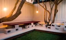 庭院里的水泥砖,简直就是百搭的变形金刚!