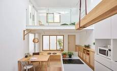 占地 38㎡的房子拆掉室内楼梯,巧变阳光房!