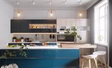 22款蓝色系厨房设计,呈现别样的灵动与清澈