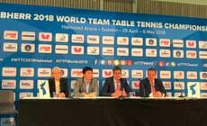For peace|世乒赛韩朝组队缓和两国关系 TATA成见证和平之门