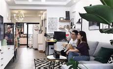 上海90后小夫妻65㎡小家,就这样越住越大