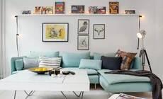 57㎡小公寓高效空间布局,完美收纳给满分!