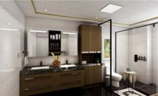 玫瑰岛全卫定制:卫生间这样设计,颜值和实用性都超有借鉴