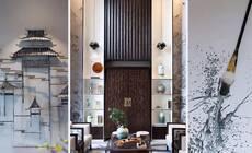 喜欢这种中式室内设计,满满的文化气息!