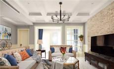 客厅有横梁,这样装大方又漂亮!